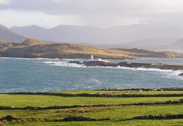 Valentia Island: View east from the Coastguard Patch